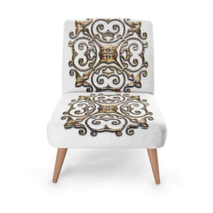 Gold Regal Occasional Chair Occasional Chair Cult Art Fusion