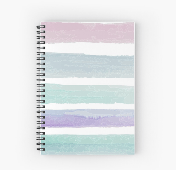 Gorgeous Spiral Notebook Pastel Dream Print Notebook Redbubble