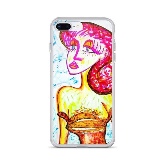 I Love You 2 iPhone Case iPhone 7 Plus/8 Plus Cult Art Fusion