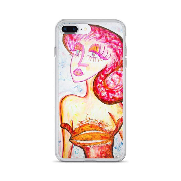 I Love You iPhone Case iPhone 7 Plus/8 Plus Cult Art Fusion