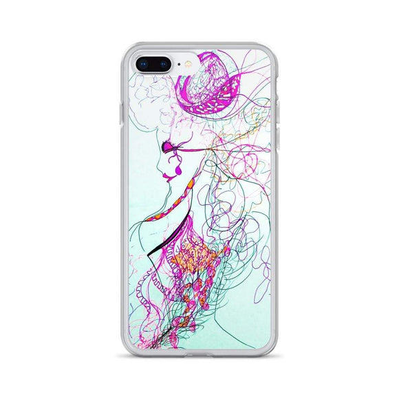 Intuition iPhone Case iPhone 7 Plus/8 Plus Cult Art Fusion