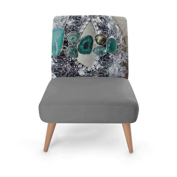 Luxe Emerald Occasional Chair Occasional Chair Cult Art Fusion