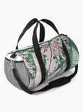 Luxury Duffle Bag Spring Leaf Print Duffle Bag Redbubble