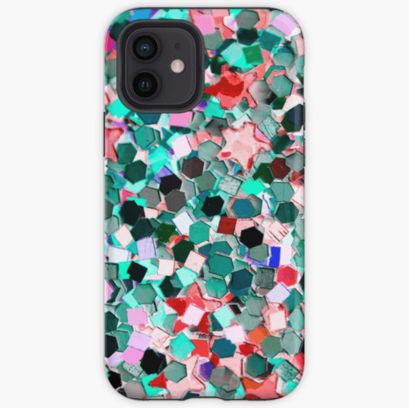 Luxury Extra Tough iPhone Confetti Print Phone Case iPhone Case Redbubble