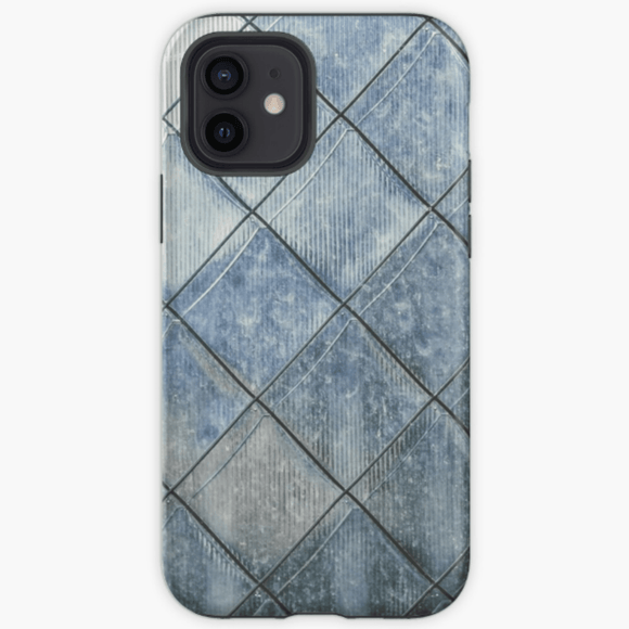 Luxury Extra Tough iPhone Grey Diamond Print Phone Case iPhone Case Redbubble