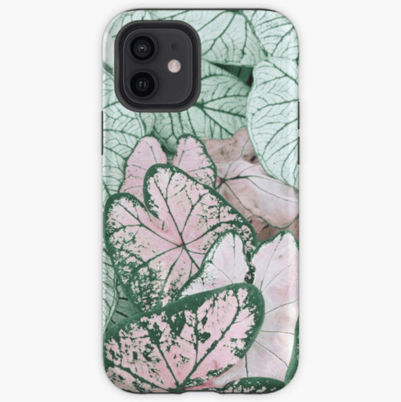 Luxury Extra Tough iPhone Spring Leaf Print Phone Case iPhone Case Redbubble