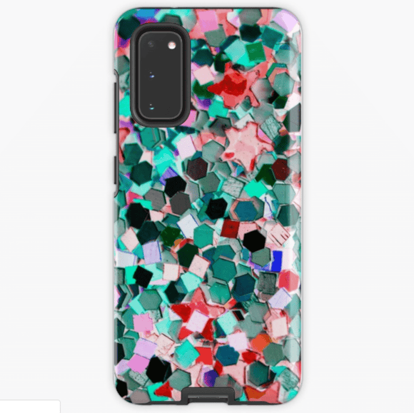 Luxury Extra Tough Samsung Galaxy Confetti Print Phone Case Samsung Case Redbubble