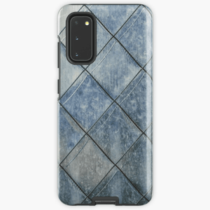 Luxury Extra Tough Samsung Galaxy Grey Diamond Print Phone Case Samsung Case Redbubble