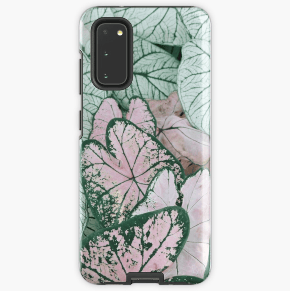 Luxury Extra Tough Samsung Galaxy Spring Leaf Print Phone Case Samsung Case Redbubble