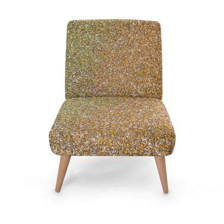 Luxury Gold Glitter Occasional Chair Occasional Chair Cult Art Fusion