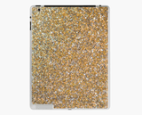Luxury iPad Skin/Case Gold Glitter Print iPad Case Or Skin iPad 4/3/2 / Skin Cult Art Fusion