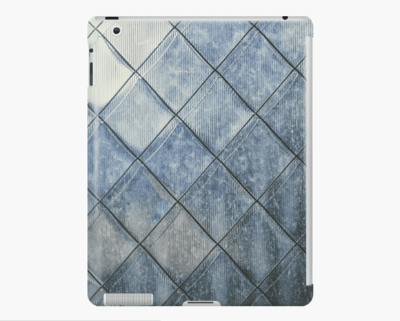 Luxury iPad Skin/Case Grey Diamonds Print iPad Case Or Skin iPad 4/3/2 / Snap Case Cult Art Fusion