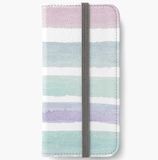 Luxury iPhone Wallet Pastel Dream iPhone Wallet Cult Art Fusion
