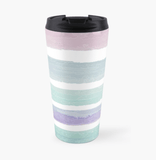 Luxury Travel Mug Pastel Dream Travel Mug Cult Art Fusion