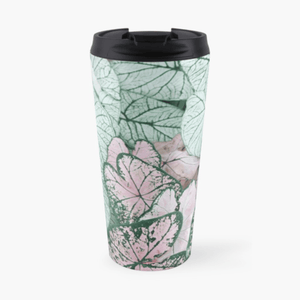 Luxury Travel Mug Spring Leaf Travel Mug Cult Art Fusion