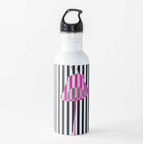 Luxury Water Bottle Pink Lipstick Water Bottle Cult Art Fusion