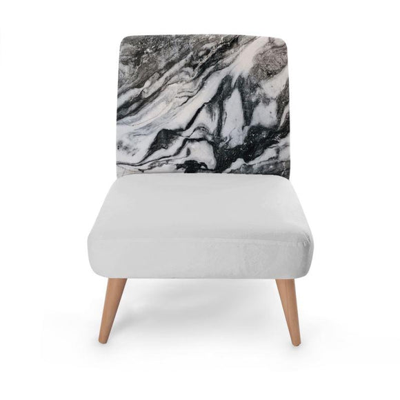 Marble Block Print Occasional Chair Occasional Chair Cult Art Fusion