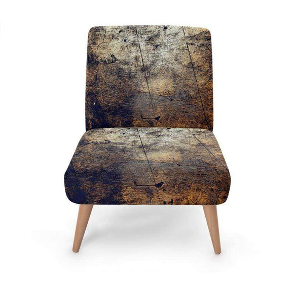 Metallic Print Occasional Chair Occasional Chair Cult Art Fusion