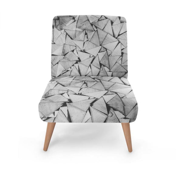 Origami Print Occasional Chair Occasional Chair Cult Art Fusion