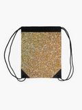 Premium Drawstring Bag Gold Glitter Print Drawstring Bag Redbubble