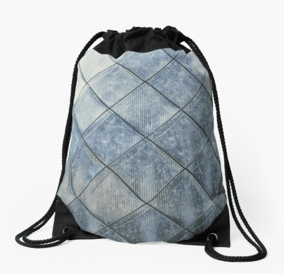 Premium Drawstring Bag Grey Diamonds Print Drawstring Bag Redbubble