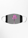Premium Mask 2/3 Layer Lipstick Pink Print Mask Flat 2-Layer Mask / Regular-Adult Redbubble