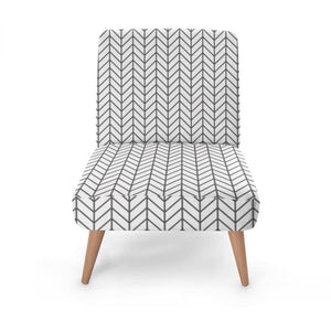 Scandinavian Print Occasional Chair Occasional Chair Cult Art Fusion