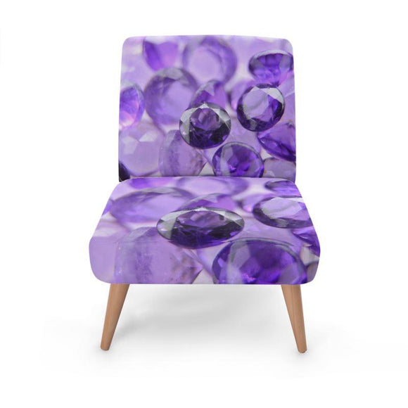 Soft Amethyst Occasional Chair Occasional Chair Cult Art Fusion