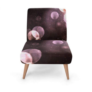 Space Print Occasional Chair Occasional Chair Cult Art Fusion