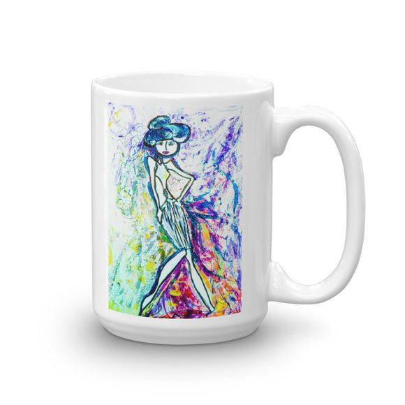 Stylista On Acid Novelty Mug Cult Art Fusion