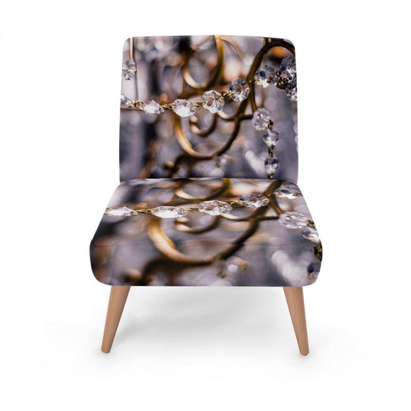 Vintage Jewellery Print Occasional Chair Occasional Chair Cult Art Fusion