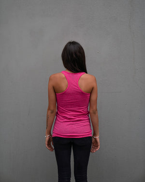 Most West Coast Apparel Women's Pink Tank Back