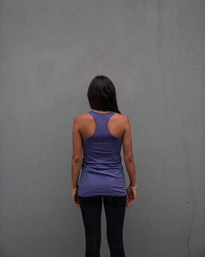 Most West Coast Apparel Women's Purple Tank Back