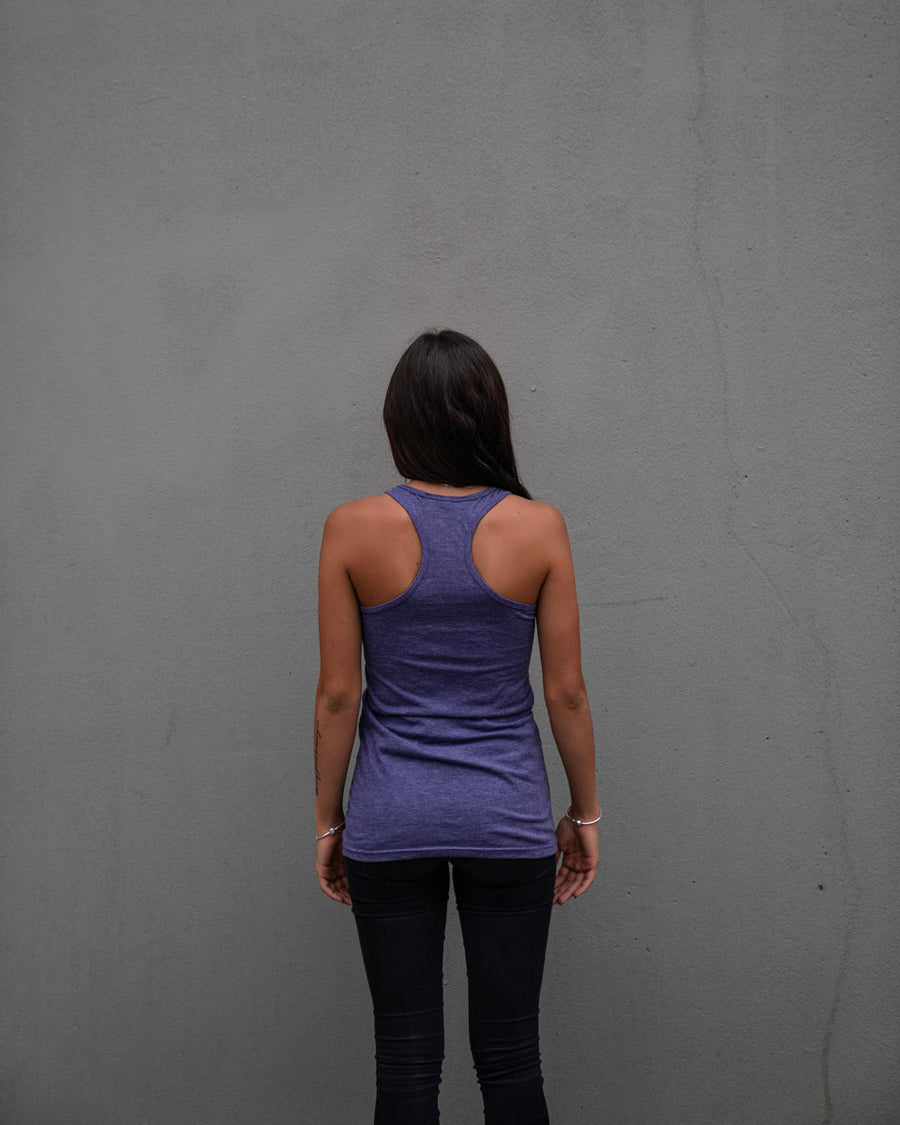 Most West Coast Apparel Women's Purple Tank Simple Front