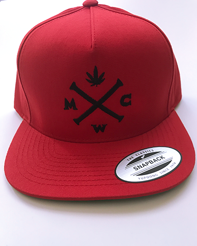 Red & Black Simple & Stylish Snapback
