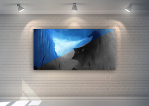 "Game of Thrones Frameless Acrylic - 1 Size available 48"" x 24"""
