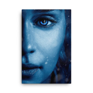 Framed Canvas Print - Khaleesi
