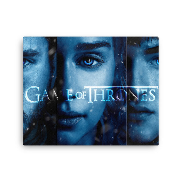 Framed Canvas Print - Game of Thrones