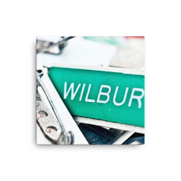 Framed Canvas Print - Street Signs  - Canvas Prints  - WallzRus Decor