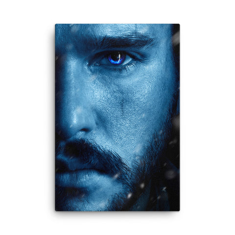 Framed Canvas Print - John Snow