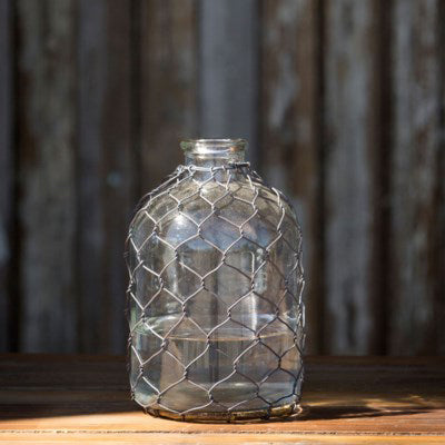Moonshine Jug with Wire - Staged Dwellings