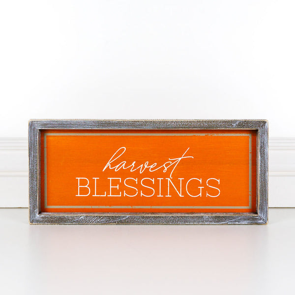 Harvest Blessings Sign