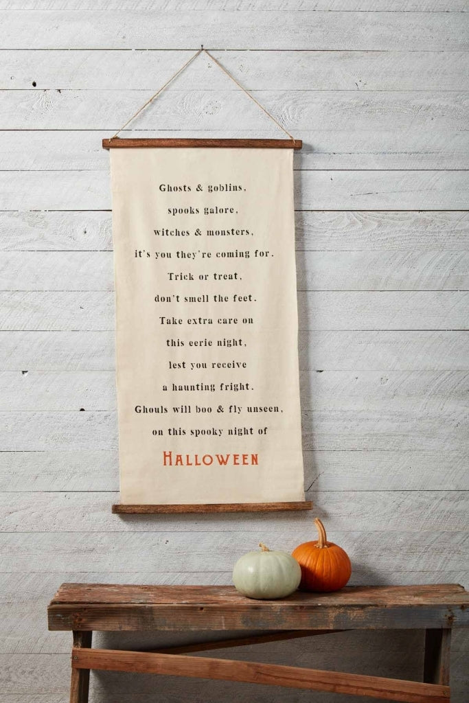 Halloween Hanging Canvas