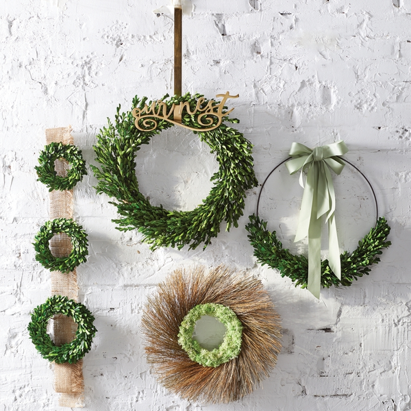 Moss & Twig Wreath