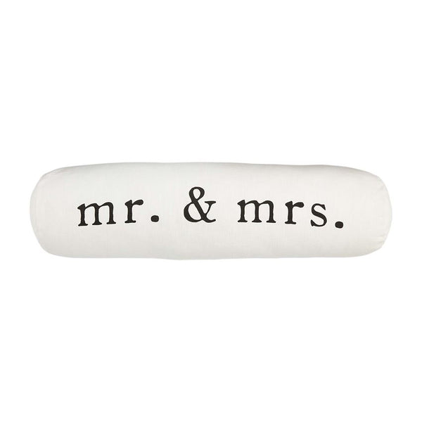 Mr. & Mrs. Bolster Pillow