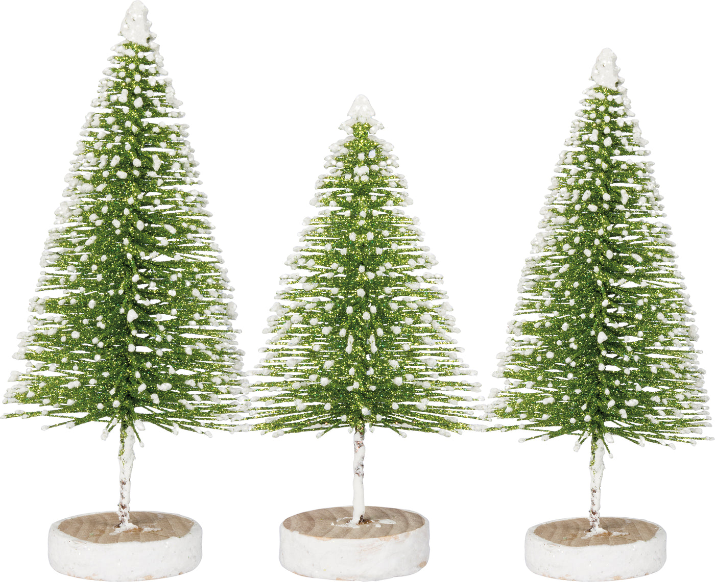 Bottle Brush Tree Set