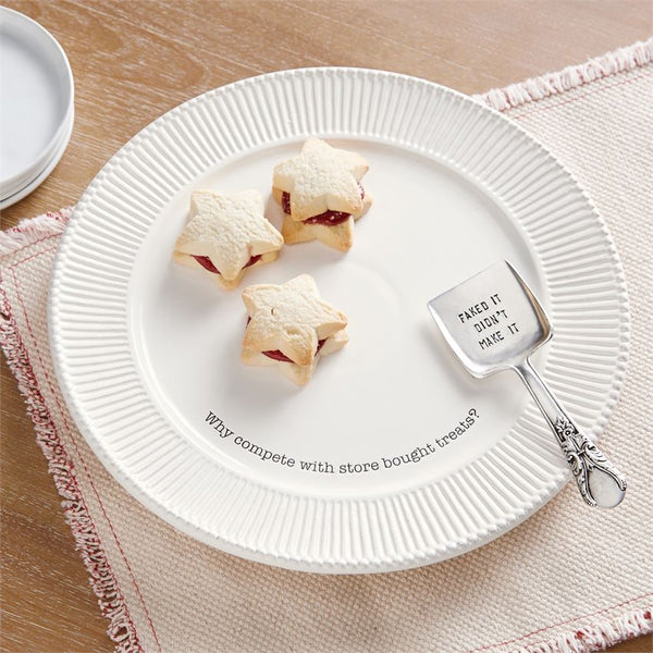 Store Bought Sweet Treats Plate Set