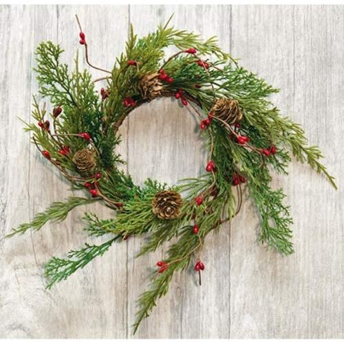Evergreen & Berry Wreath