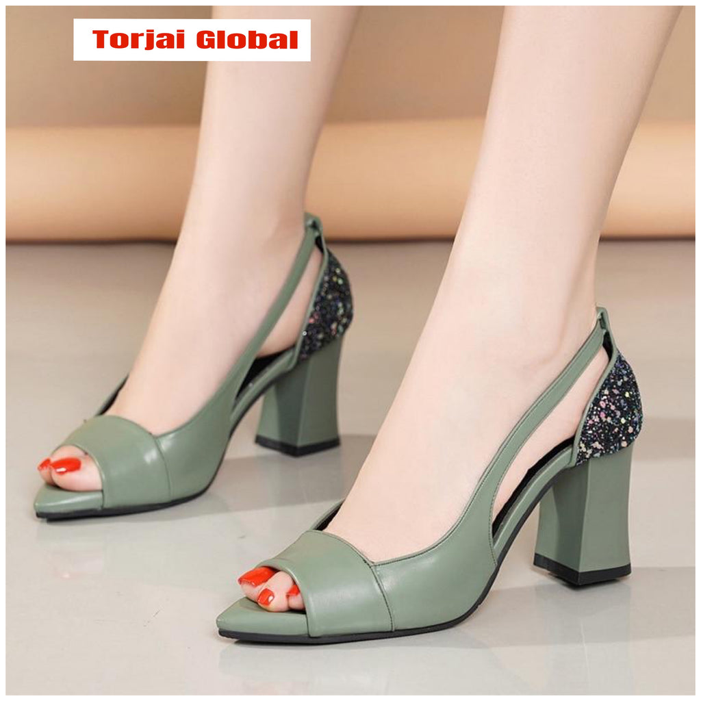 Thick High Heels Women's Shoes  2020
