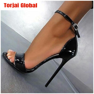 2020 Thin High Heels Black Heel Shoes